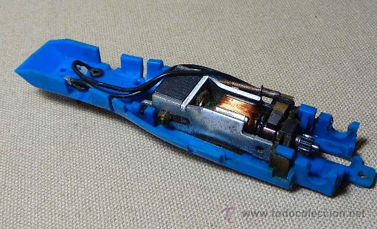 Scalextric: SLOT, CAR, CHASIS CON MOTOR, TYRRELL FORD, SCALEXTRIC, REF: C - 48 - Foto 3 - 21430689