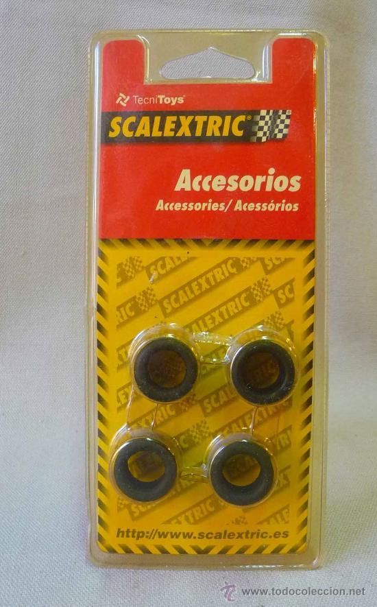 NEUMATICOS, ORIGINAL SCALEXTRIC, TIPO 1, 19,3 X 11, 2 CM, MM, REF: 8767 (Juguetes - Slot Cars - Scalextric Pistas y Accesorios)