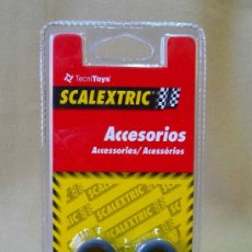 Scalextric: NEUMATICOS, ORIGINAL SCALEXTRIC, TIPO 5, 21 X 12 MM, REF: 8771. Lote 141502642