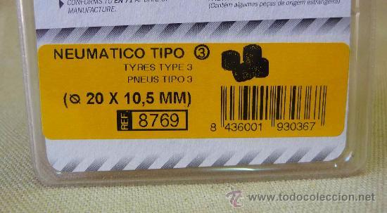 Scalextric: NEUMATICOS, ORIGINAL SCALEXTRIC, TIPO 3, 20 X 10, 5 mm, REF: 8769 - Foto 2 - 24196850