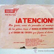 Scalextric: SOBRE VACIO, SCALEXTRIC, CIRCUITO GP 26. Lote 24446776