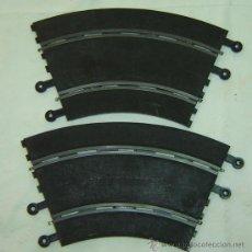 Scalextric: JUEGO DE 2 CURVAS SCALEXTRIC STANDARD-REF.PT/51 AÑO 1977. Lote 25131793