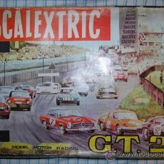 Scalextric: CAJA ANTIGUO CIRCUITO SCALEXTRIC EXIN GT 25 MERCEDES 250. Lote 26659360