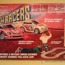 Scalextric: MAJORETTE PUNCH RACERS CIRCUITO COMPLETO ORIGINAL MUY RARO. Lote 27257611