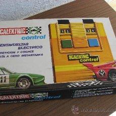 Scalextric: SCALEXTRIC CONTROL CUENTA VUELTAS ELECTRICO - EXIN ESPAÑA -. Lote 27069496