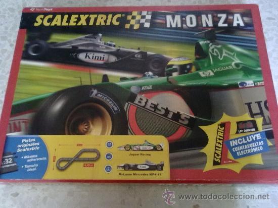 SCALECTRIC MONZA COMPLETO (Juguetes - Slot Cars - Scalextric Pistas y Accesorios)