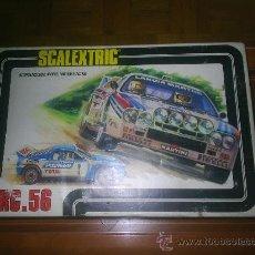 Scalextric: M69 CAJA SCALEXTRIC DE EXIN COMPLETO CIRCUITO RC - 56 DE SCALEXTRIC DE EXIN. Lote 27343522