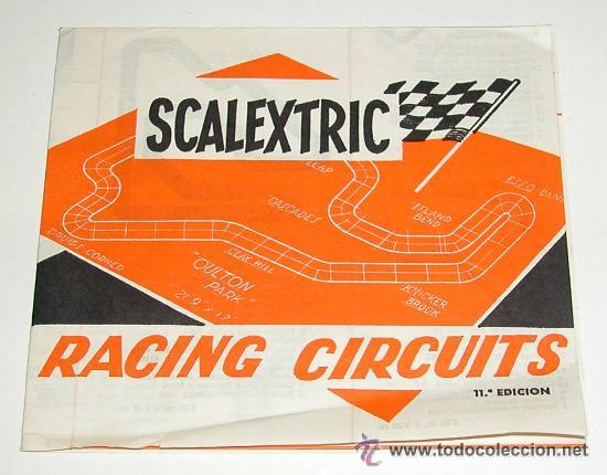 RACING CIRCUITS 11ª EDICION DE SCALEXTRIC (Juguetes - Slot Cars - Scalextric Pistas y Accesorios)