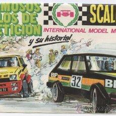 Scalextric: SCALEXTRIC EXIN_CATÁLOGO DESPLEGABLE DE COCHES DE LA EPOCA 1982. Lote 28173998