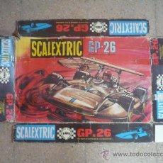 Scalextric: CAJA CIRCUITO GP-26 SOLO PORTADA EXIN SIGMA SCALEXTRIC. Lote 28483698