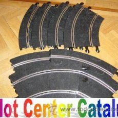 Scalextric: NUEVAS A ESTRENAR 10 CURVAS SCALEXTRIC ESTANDAR . Lote 140199768