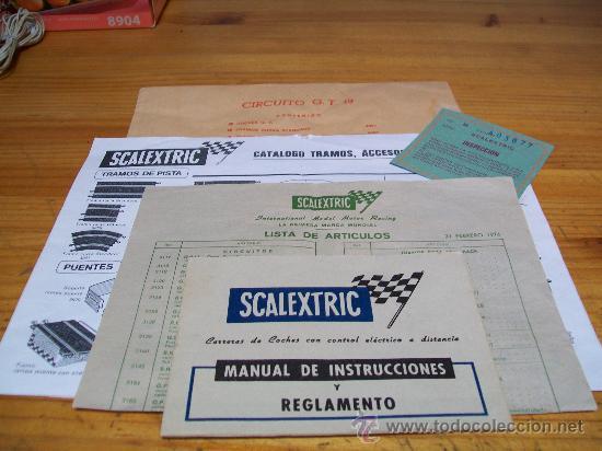 Scalextric: SCALEXTRIC CAJA GT. 19 DE EXIN. Completo, 1975 - Foto 6 - 29464394