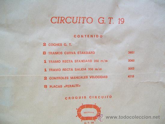 Scalextric: SCALEXTRIC CAJA GT. 19 DE EXIN. Completo, 1975 - Foto 5 - 29464394