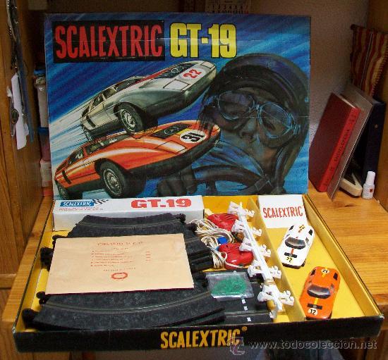 Scalextric: SCALEXTRIC CAJA GT. 19 DE EXIN. Completo, 1975 - Foto 3 - 29464394