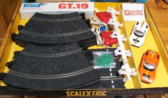 Scalextric: SCALEXTRIC CAJA GT. 19 DE EXIN. Completo, 1975 - Foto 2 - 29464394