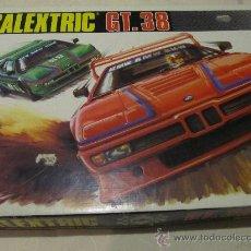 Scalextric: M69 CAJA DE SCALEXTRIC EXIN AÑOS 80 GT 38 COMPLETA (VER DESCRIPCION). Lote 29565642
