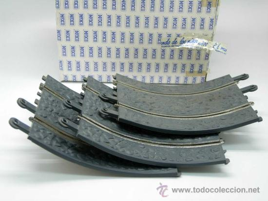 Scalextric: Curva convexa 4 tramos Scalextric con caja Ref 7415 - Foto 3 - 29597052