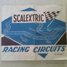 Scalextric: SCALEXTRIC EXIN. CIRCUITOS, REPRODUCCIONES Y AMPLIACIONES. AÑO 1973.. Lote 30253946