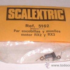 Scalextric: SCALEXTRIC PAR DE ESCOBILLAS Y MUELLES MOTOR RX2 Y RX3, REF. 5162. CC. Lote 30399707