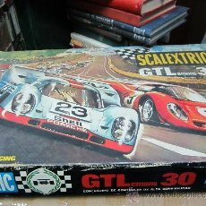 Scalextric: FANTASTICO SCALEXTRIC GT-LEMANS 30 COMPLETO CON 2 PORSCHES 917. Lote 31229440