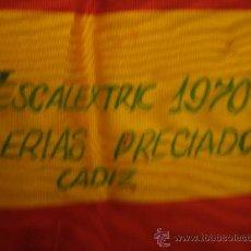 Scalextric: GRAN BANDA BANDERA ESPOLA EN MOHARET, V CONCURSO ESCALEXTRIC 1970 GALERIAS PRECIADOS CADIZ SCALXTRIC. Lote 32148068