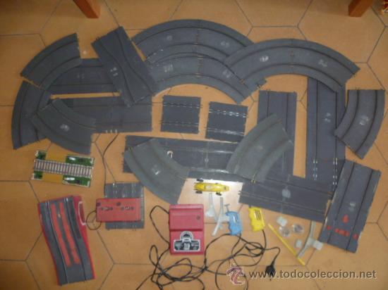 Scalextric: Lote de Pista y acesorios. (ver fotos) - Foto 2 - 32293571