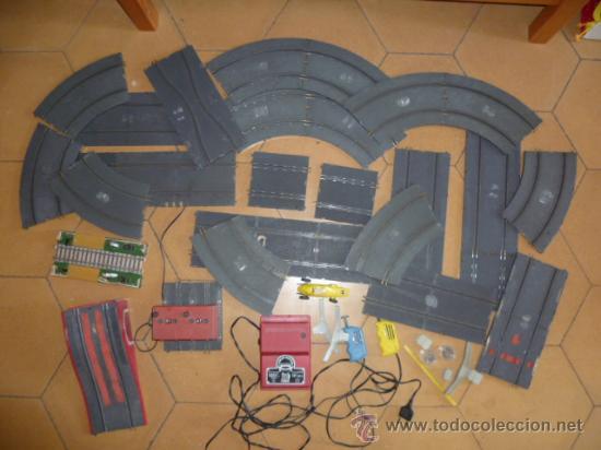 Scalextric: Lote de Pista y acesorios. (ver fotos) - Foto 3 - 32293571