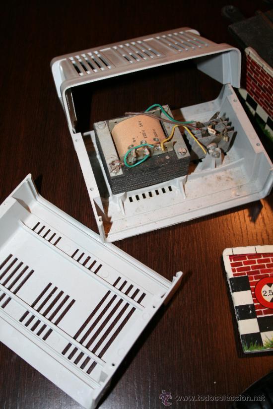 Scalextric: LOTE VARIOS ELEMENTOS SCALEXTRIC AÑOS 70 PARA PIEZAS O RESTAURAR - Foto 14 - 32478964