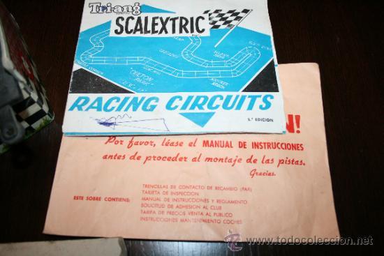 Scalextric: LOTE VARIOS ELEMENTOS SCALEXTRIC AÑOS 70 PARA PIEZAS O RESTAURAR - Foto 8 - 32478964