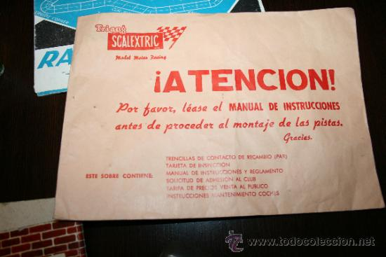 Scalextric: LOTE VARIOS ELEMENTOS SCALEXTRIC AÑOS 70 PARA PIEZAS O RESTAURAR - Foto 7 - 32478964