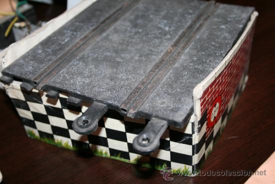 Scalextric: LOTE VARIOS ELEMENTOS SCALEXTRIC AÑOS 70 PARA PIEZAS O RESTAURAR - Foto 3 - 32478964