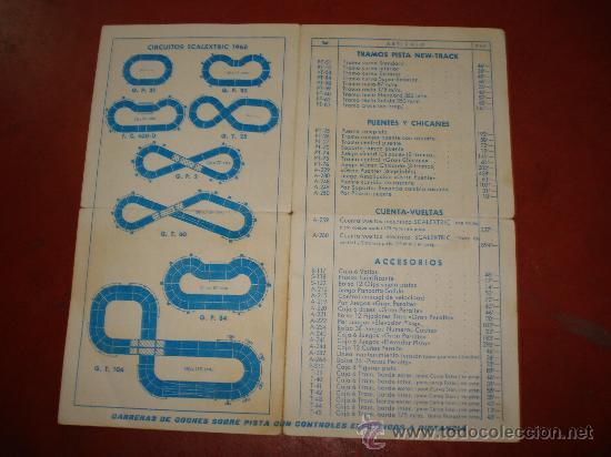 Scalextric: Antigua Tarifa de Precios Venta al Publico SCALEXTRIC EXIN del 17 Febrero de 1968. - Foto 2 - 32617516