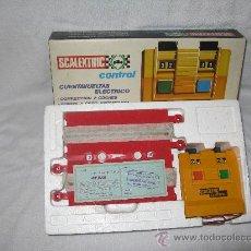 Scalextric: CUENTAVUELTAS ELECTRICO DE SCALEXTRIC-EXIN. Lote 32642404