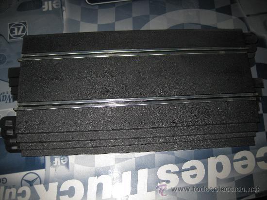LOTE CON 4 RECTAS STANDARD SIN ESTRENAR DE SUPERSLOT - MODELO SUPERSPORT (Juguetes - Slot Cars - Scalextric Pistas y Accesorios)