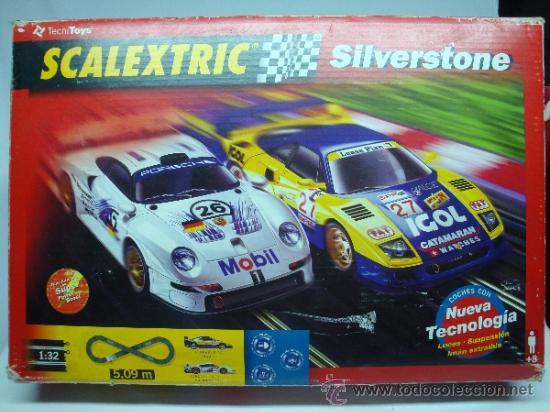 Scalextric: scalextric caja completa silverstone - Foto 6 - 34137953