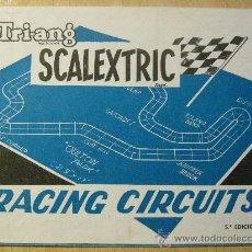 Scalextric: SCALEXTRIC. RACING CIRCUITS. CIRCUITOS QUINTA EDICIÓN. AÑOS 60-70. EXIN. TRI-ANG. (IV-68).. Lote 34393395