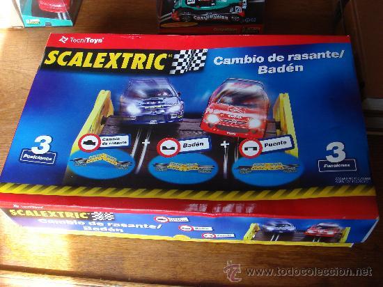 CAMBIO RASANTE/BADEN - SCALEXTRIC. NUEVO (Juguetes - Slot Cars - Scalextric Pistas y Accesorios)