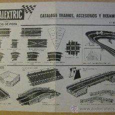 Scalextric: CATALOGO SCALEXTRIC, TRAMOS, ACCESORIOS Y RECAMBIOS. AÑO 1973. 7ª EDICIÓN.. Lote 34504182