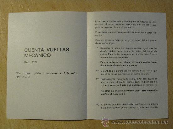 Scalextric: Hojas interiores del díptico. - Foto 2 - 34504452