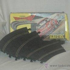 Scalextric: CURVAS SUPER RACING AÑOS 70. Lote 34697543
