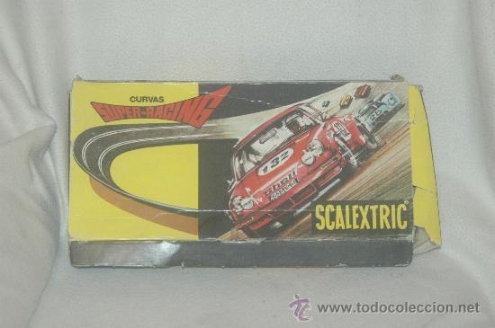 Scalextric: CURVAS SUPER RACING AÑOS 70 - Foto 2 - 34697543