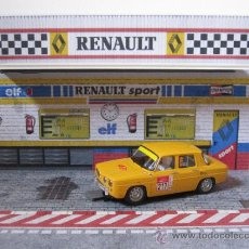 Scalextric: DIORAMA 1/32 BOXES RENAULT. Lote 38089960