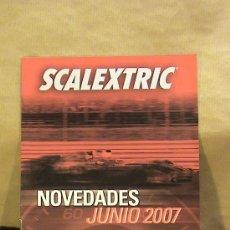 Scalextric: LOTE PUBLICIDAD SCALEXTRIC JUNIO 2007 Q3. Lote 36015109