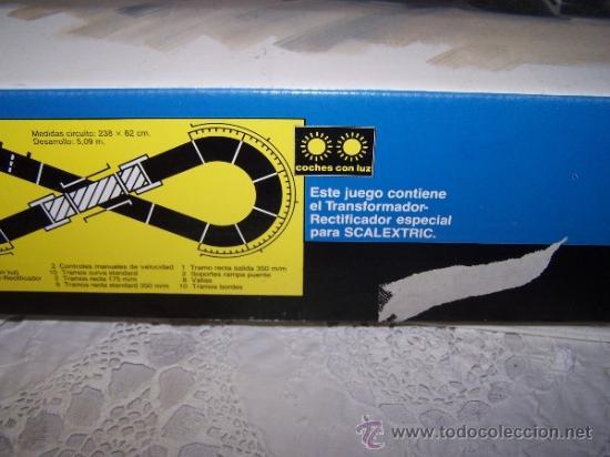 Scalextric: Caja de Scalextric de Exin completa y con un coche de más de regalo - Foto 4 - 36704392
