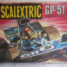 Scalextric: CAJA SCALEXTRIC GP 51. CC. Lote 37029834