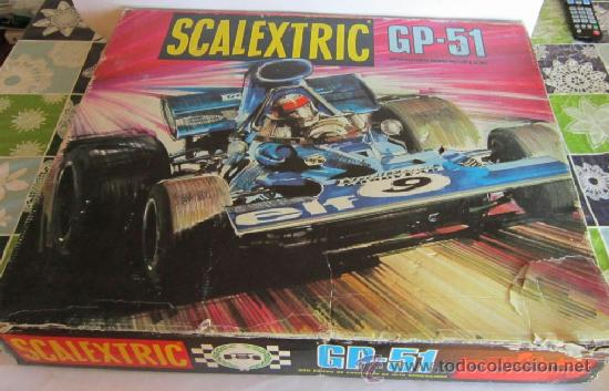 SCALEXTRIC GP-51, EN CAJA. CC (Juguetes - Slot Cars - Scalextric Pistas y Accesorios)