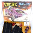 Scalextric: DIFICIL! ANTIGUO SCALEXTRIC EXIN AÑOS 70 GP 17 COHE FORD MUSTANG DRAGSTER AMARILLO Y LILA. Lote 53084616