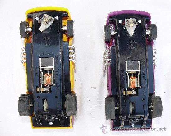 Scalextric: DIFICIL! ANTIGUO SCALEXTRIC EXIN AÑOS 70 GP 17 COHE FORD MUSTANG DRAGSTER AMARILLO Y LILA - Foto 4 - 53084616