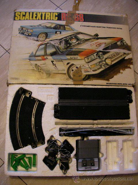 ANTIGUO CIRCUITO SCALEXTRIC EXIN RC 68 (Juguetes - Slot Cars - Scalextric Pistas y Accesorios)
