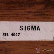 Scalextric: SCALEXTRIC EXIN PEGATINA ORIGINAL SIGMA REF. 4047. Lote 38679584